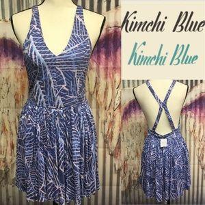 Nwts kimchi blue print comfy ROMPER szM